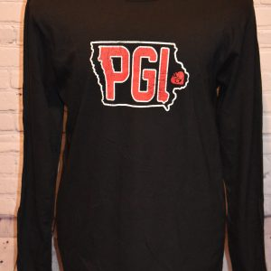 Black Long Sleeve Shirt with PGI Logo