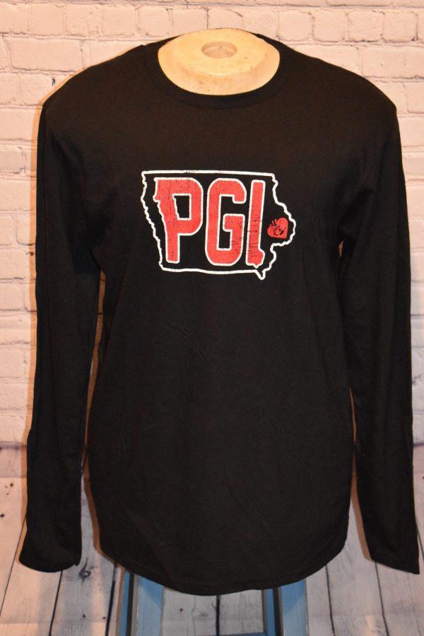 Black Long Sleeve Shirt with PGI Logo
