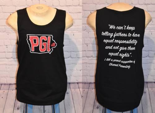 Black Tanktop with PGI logo