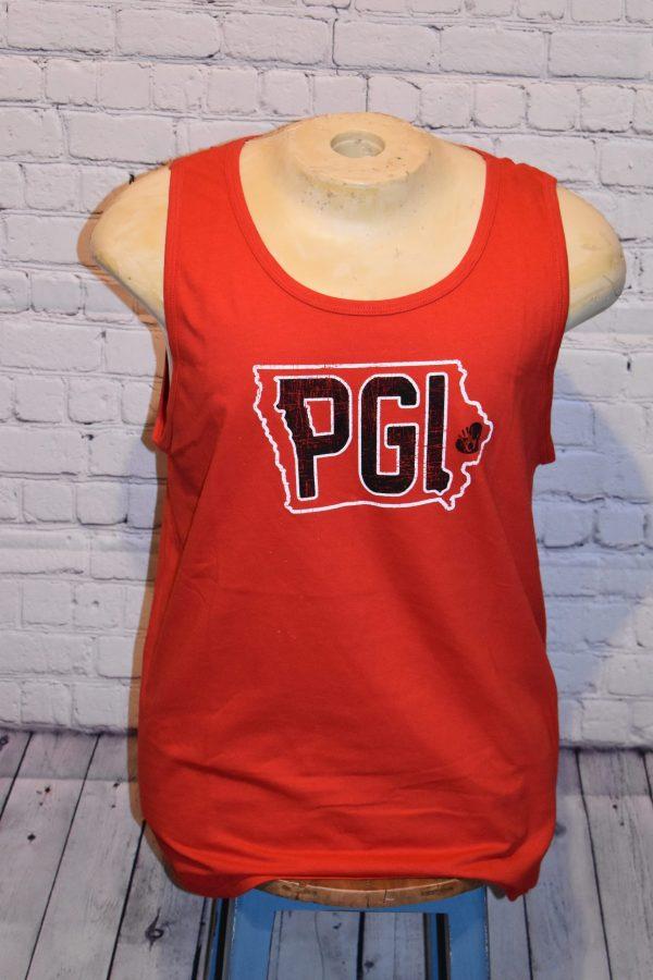 Red Tanktop with PGI logo