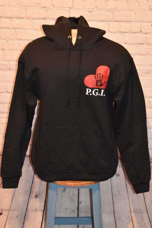 Black Hoodie with PGI Logo