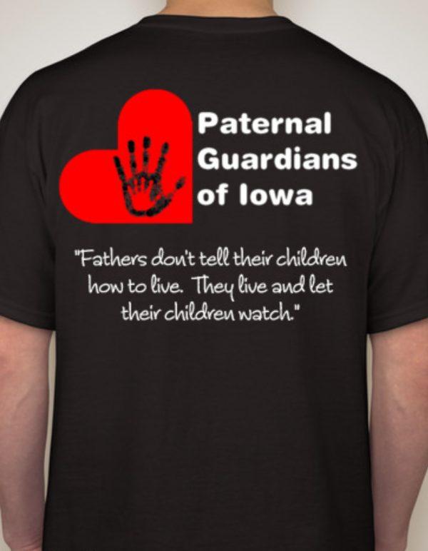 Black T-Shirt with PGI logo